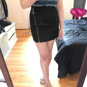NWOT H&M mini quilted skirts